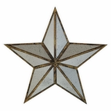 Glossy Metal Star Wall Art by Three Hands Corp