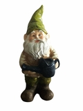 Gnome with Watering Can Statue by Alpine Corp