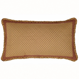 Gold and Great Napa Valley Luxury Sham by VHC Brands