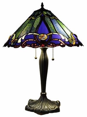 Gorgeous and Alluring Victorian Table Lamp by Chloe Lighting