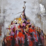 Gorgeous Artwork of Dance of Life II by Yosemite Home Decor