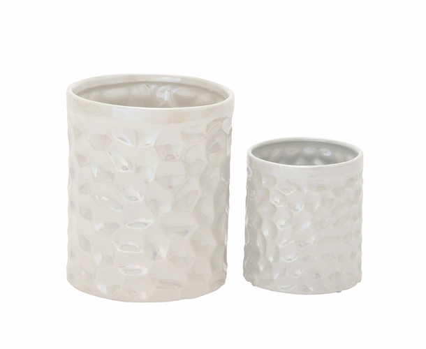buy gorgeous ceramic kitchen utensil holder set of 2 6 9 h