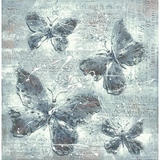Gorgeous Masterpiece of Butterfly Impressions by Yosemite Home Decor