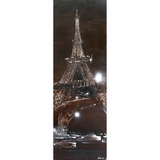 Gorgeous Painting of Sparkling Eiffel by Yosemite Home Decor