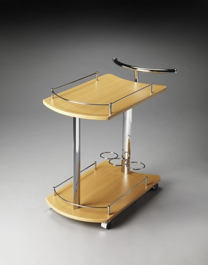 Gorgeous Penelope Modern Serving Cart by Butler Specialty