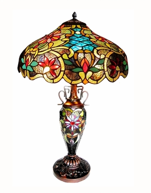 Gorgeously Decked Leslie Table Lamp by Chloe Lighting