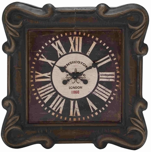 Gothenburg Wall Clock Antiqued Fascinating Creation Brand Benzara
