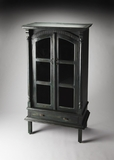 Gothic Normandy Rustic Display Cabinet by Butler Specialty
