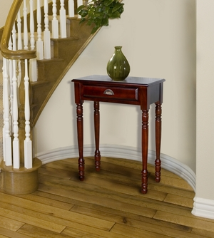 Gramsh Single Drawer Hall Table, Functional And Spectacular Creation by D-Art