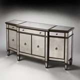 Grand Celeste Mirror And Mahogany Buffet by Butler Specialty
