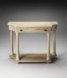 Grand Hobson Driftwood Console Table by Butler Specialty
