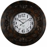 Grandly Textured Paxton Clock by Cooper Classics