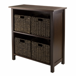 Winsome Wood Granville 5pc Storage Shelf A Perfect Self To Keep Your Goodies Organized