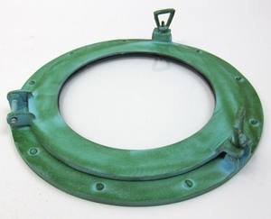 Green Finish Attractive Port Hole Aluminum by IOTC