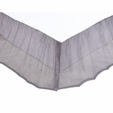 Grey Boucle King Bed Skirt 78x80x16 - VHC Brands 27260