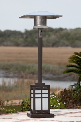 Grosseto Patio Heater, Authentic And Ornamental Functional Accessory by Well Travel Living