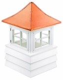 "Guilford Cupola 30"" x 49"" - Vinyl and Copper by Good Directions"