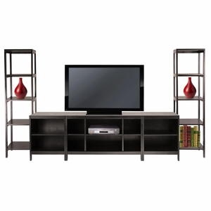 Hailey Dark Espresso Finish 5pc Entertainment Set by Winsome Woods