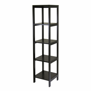 Hailey Modular 5- Tier Tower Shelf by Winsome Woods