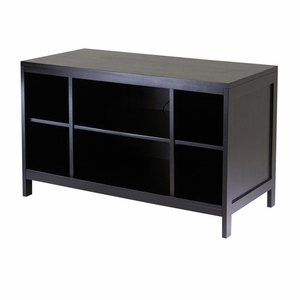 Hailey TV Stand with Large Open Shelf by Winsome Woods