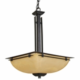 Half Dome Collection Creatively Styled 2 Lights Pendant Lighting in Venetian Bronze by Yosemite Home Decor