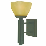 Half Dome Collection Extraordinary Styled 1 Light Wall sconce in Venetian Bronze by Yosemite Home Decor