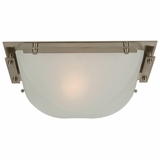 Half Dome Collection Fascinating 1 Lights Wall sconce in Satin Nickel Finish by Yosemite Home Decor
