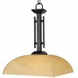 Half Dome Collection Marvelously Styled 1 Lights Pendant Lighting series in Venetian Bronze by Yosemite Home Decor