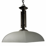 Half Dome Collection Uniquely Styled 1 Light Pendant Lighting series in Satin Nickel Finish by Yosemite Home Decor