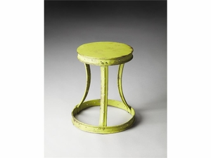 "Hamerton Metal Stool 14.5""Diam by Butler Specialty"
