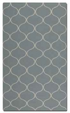 """Hamilton Blue Grey 16"""" Woven Wool Rug with Off White Details Brand Uttermost"""