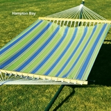 Hampton Bay Summer Print 11' Fabric Hammock by Alogma