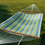Hampton Bay Summer Print 13' Fabric Hammock by Alogma