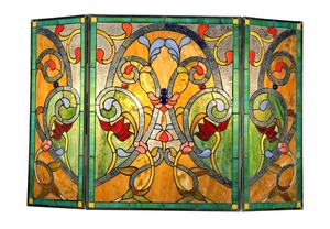 Handcrafted Contemporary Styled Fireplace Screen by Chloe Lighting