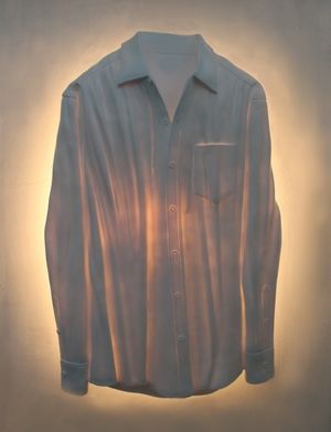 Handmade Rubber Shirt Wall Decor with Intricate Detailing Brand Screen Gem