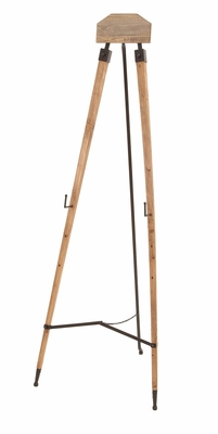 Handy Tripod Easel - Vintage Wood Easel With Adjustable Legs Brand Woodland