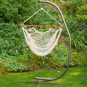 Hanging Cotton Rope Chair by Alogma
