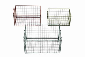 Hanover Heavy-duty Winsome Wire Basket Set Brand Benzara