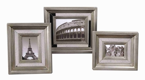 Hasana Antique Photo Frame Set With Mirror Panels Frame Brand Uttermost