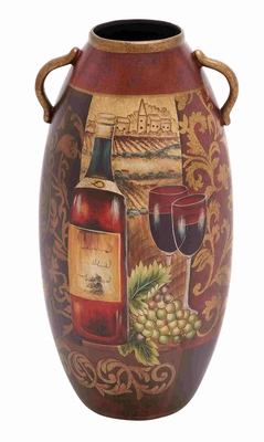 Hawaii Exquisite Ceramic Vase Decor - 52376 by Benzara