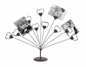 Heart-shaped Photo Holder - Creative Gift Idea for Photo Holder Brand Woodland
