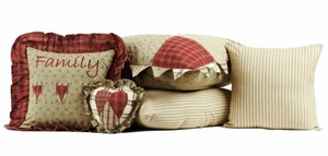 "Heartland Sham Euro Quilted 26x26"" Brand VHC"