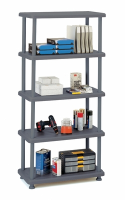 Heavy-duty 5 Shelf Rough 'N Ready by Iceburg Enterprises