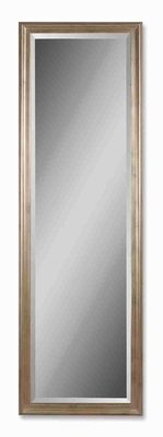 Hekman Wall Mirror with Solid Wood Champagne Finish Frame Brand Uttermost