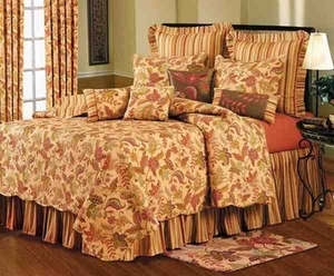 Henley  Cotton  Quilt Luxury Os King  Bedding Ensembles Brand C&F
