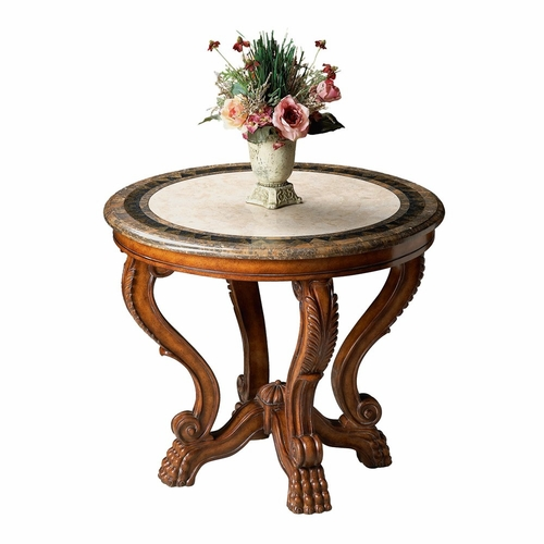 "Butler Specialty BTS-5026070 Heritage Foyer Table 36""Diam"