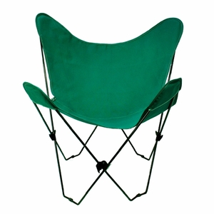 Hilarious Hunter Green Replacement Cover for Butterfly Chair by Alogma