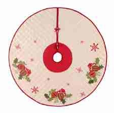 Holiday Ornaments Christmas Tree Skirt, 54 Inch Brand C&F