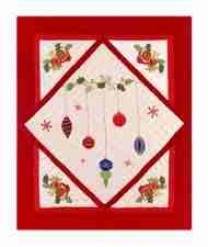 Holiday Ornaments Holiday Throw, 50 Inch X 60 Inch Brand C&F