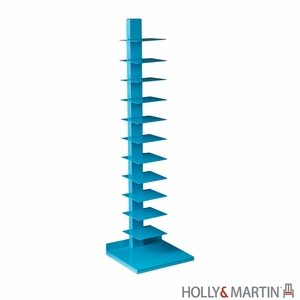 Holly & Martin Heights Book/Media Tower-Berry Blue by Southern Enterprises